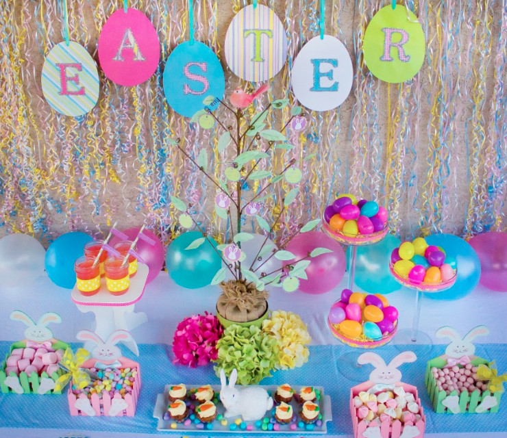 Easter Party Centerpiece Ideas  Creative Last Minute Decorations For Your Easter Party