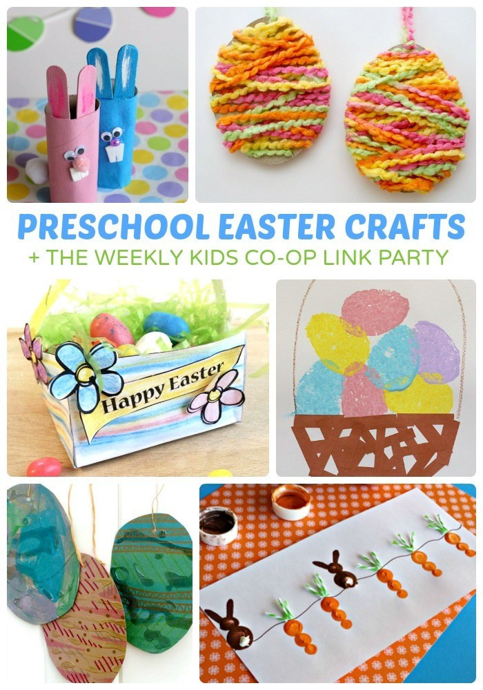 Easter Party Craft Ideas  Adorable Preschool Easter Crafts
