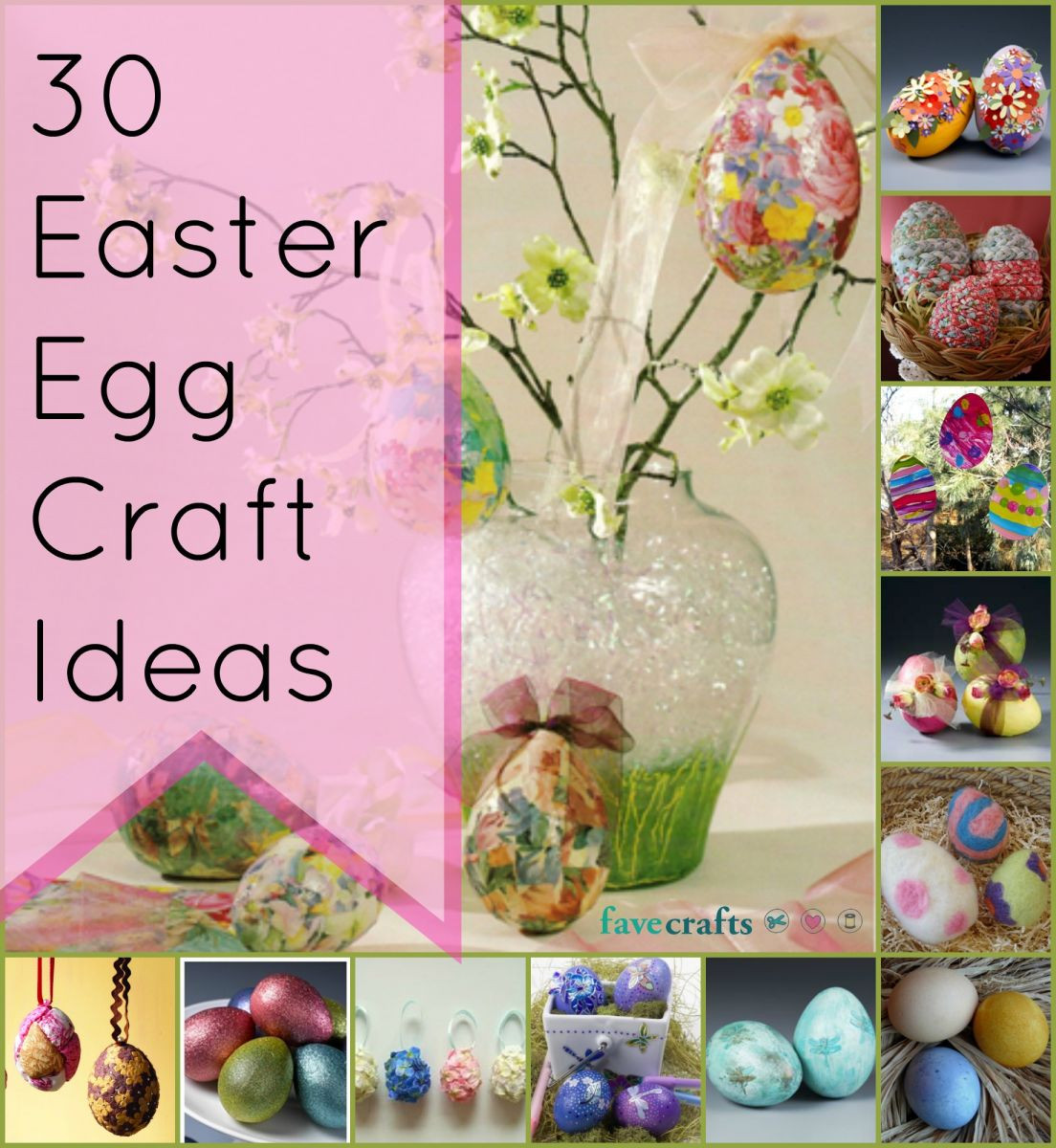 Easter Party Craft Ideas  30 Easter Egg Craft Ideas