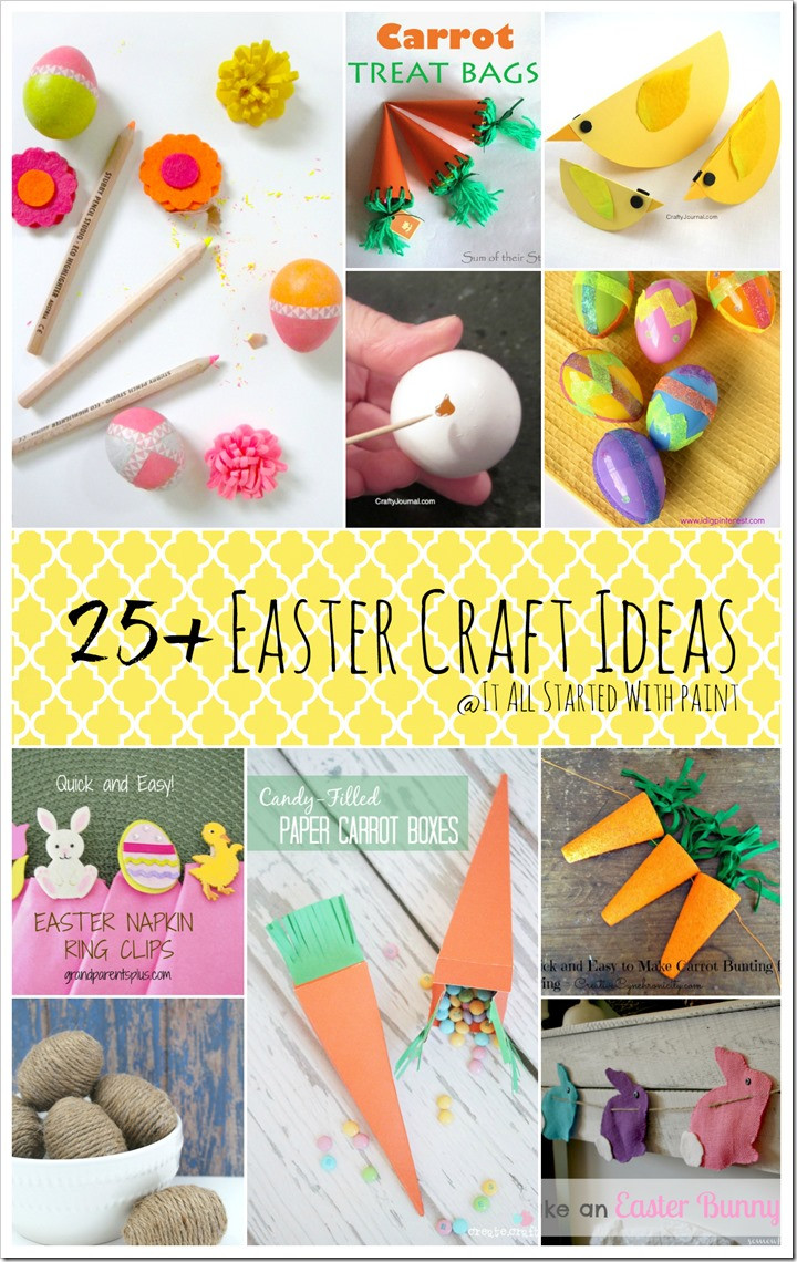 Easter Party Craft Ideas  Easter Craft Ideas It All Started With Paint
