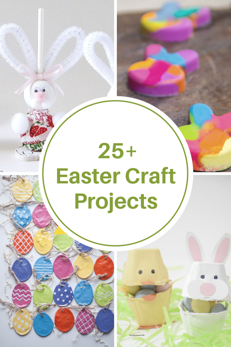 Easter Party Craft Ideas  Plastic Easter Egg Crafts and Activities The Idea Room
