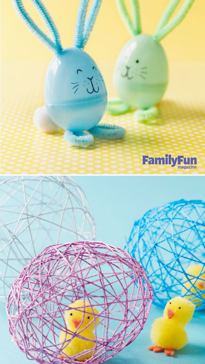 Easter Party Craft Ideas  Kara s Party Ideas Easy Fun Easter Crafts for Kids Egg