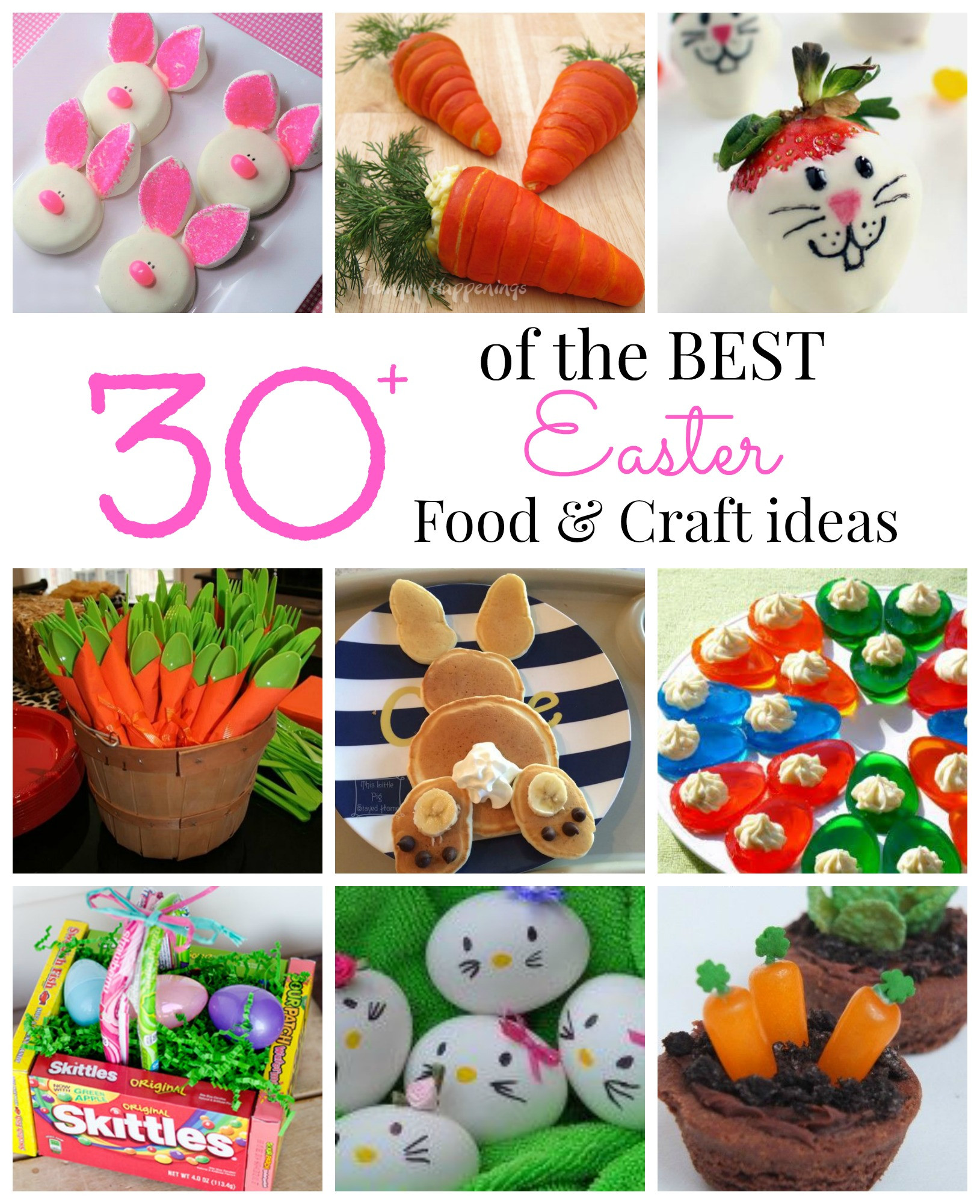Easter Party Craft Ideas  Best Food and Craft Ideas for Easter Party Pinching
