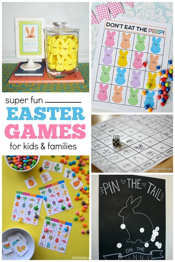Easter Party Game Ideas Kids  1000 ideas about Easter Games For Kids on Pinterest