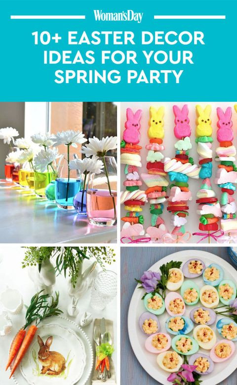 Easter Party Ideas Food  25 Pretty Easter Party Ideas — Decorations for an Easter Party