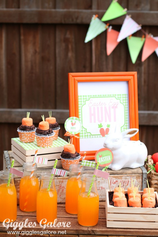 Easter Party Ideas Food  Easter Egg Hunt Party Giggles Galore