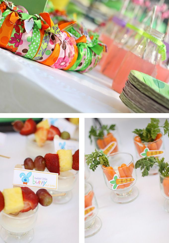 Easter Party Ideas Food  252 best Easter for the Kids images on Pinterest