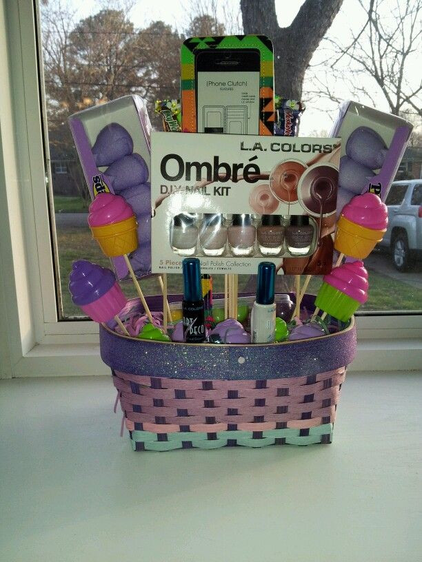Easter Party Ideas For Teens  Custom made Easter basket for a teenager