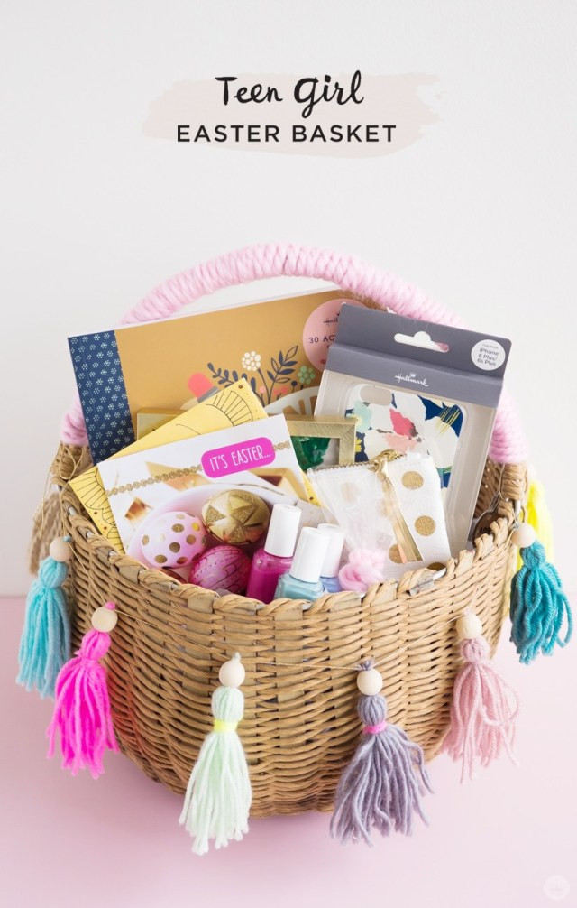 Easter Party Ideas For Teens  Easter basket ideas for kids from toddlers to teens