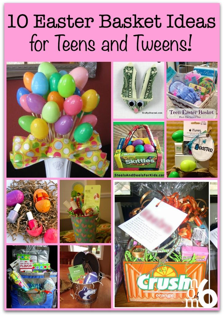 Easter Party Ideas For Teens  10 Easter Basket Ideas for Teens and Tweens