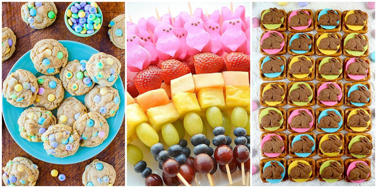 Easter Party Snack Ideas For Kids  21 Best Easter Snacks Easy and Cute Ideas for Easter