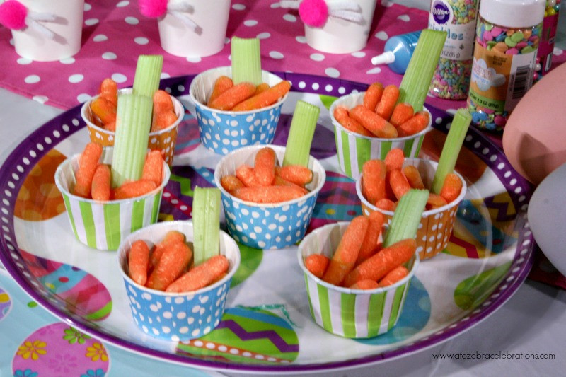 Easter Party Snack Ideas For Kids  Easter Party Ideas For Less – A to Zebra Celebrations