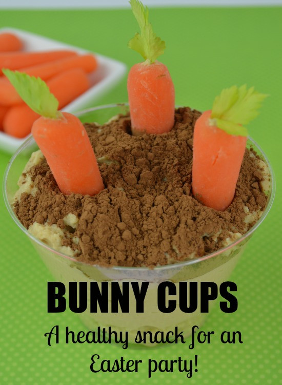 Easter Party Snack Ideas For Kids  Bunny Cups a Healthy Snack for Easter Party Fun Natural
