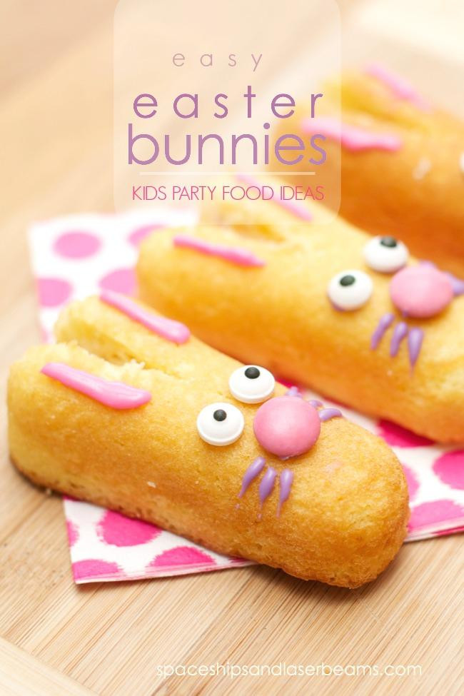 Easter Party Snack Ideas For Kids  Kid s Party Food Ideas Easy Easter Bunnies Spaceships