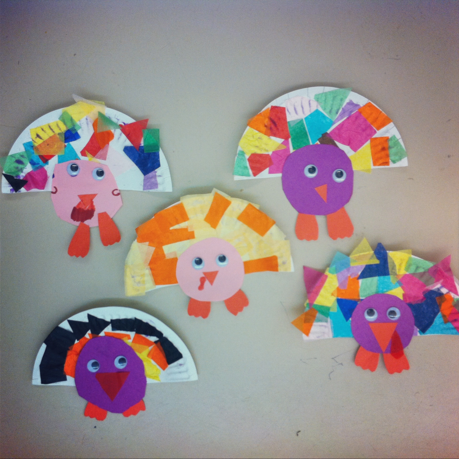 Easy Art Activities Preschoolers  November 2012