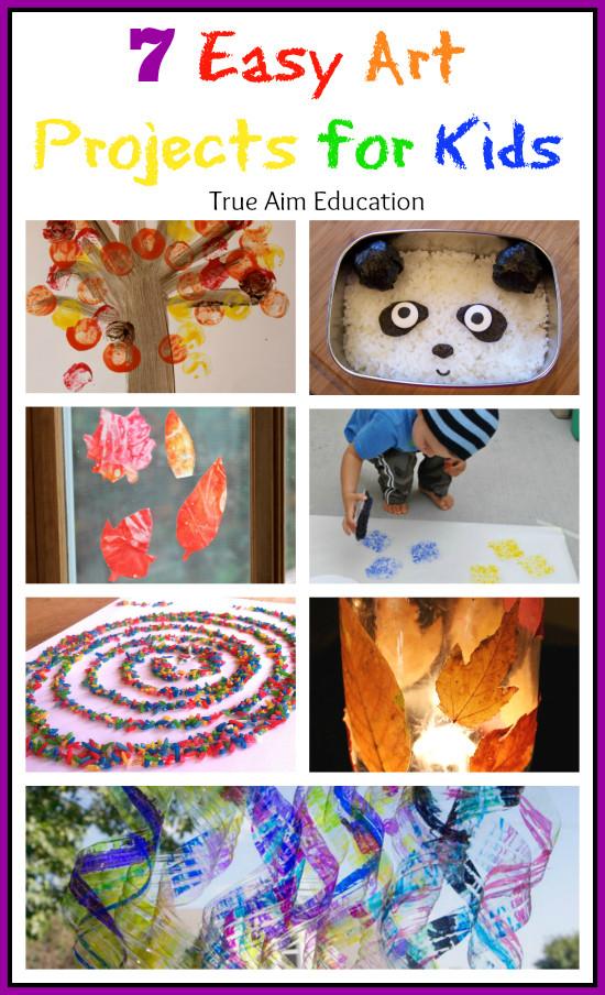 Easy Art Activities Preschoolers  7 Easy Art Activities for Kids and Mom s Library 60