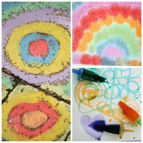 Easy Art Activities Preschoolers  25 Awesome Art Projects for Toddlers and Preschoolers