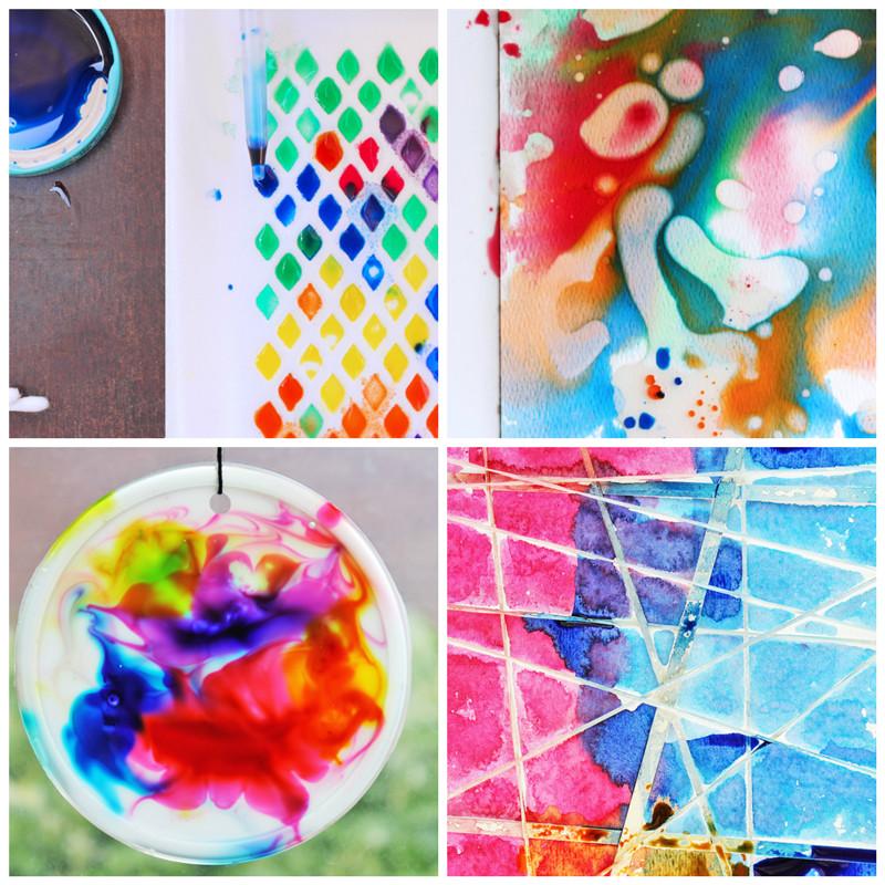 Easy Art Activities Preschoolers  12 Easy Art Ideas for Kids Babble Dabble Do