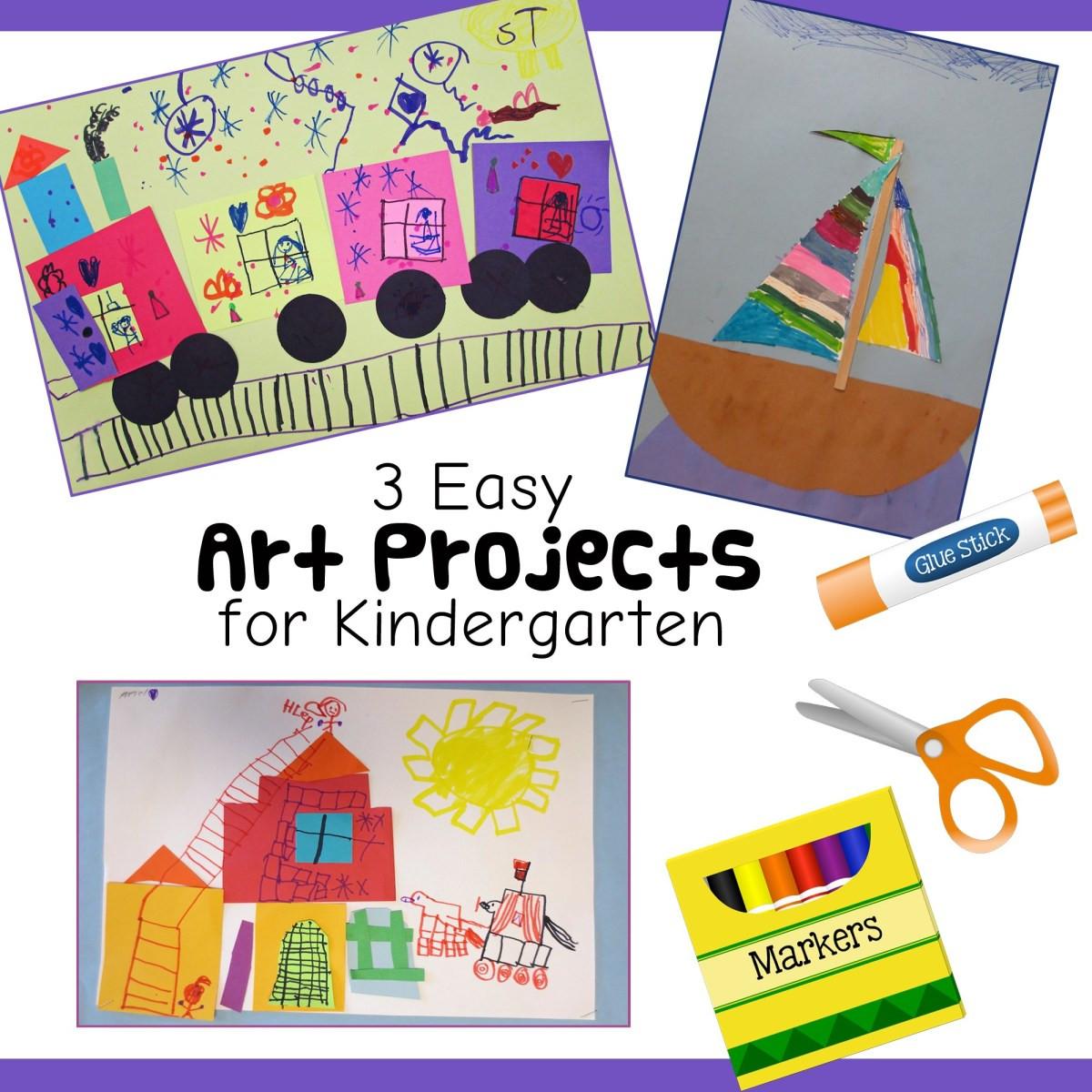Easy Art Activities Preschoolers  3 Fun and Easy Kindergarten Art Lessons – Art is Basic