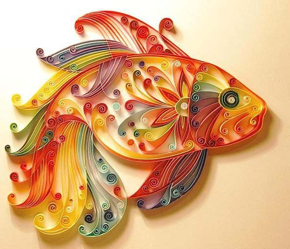 Easy Arts And Crafts Ideas For Adults  LO QUE VIENE SIENDO QUILLING