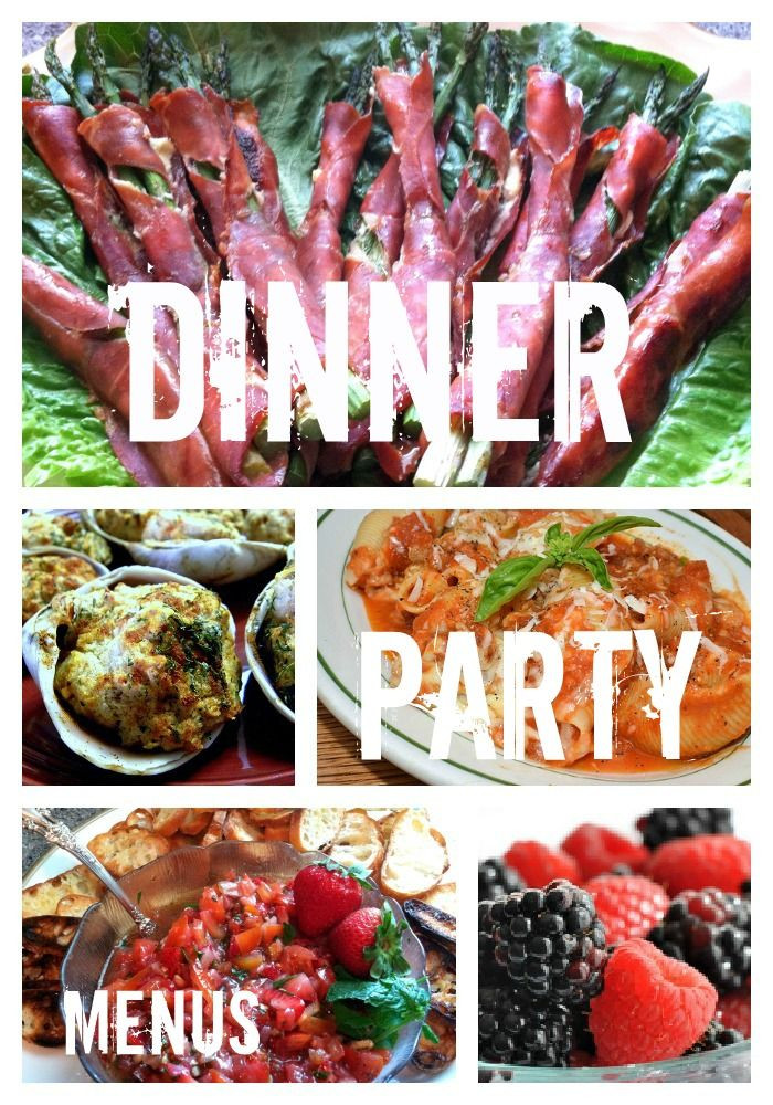 Easy Dinner Party Menu Ideas  Dinner Party Recipes