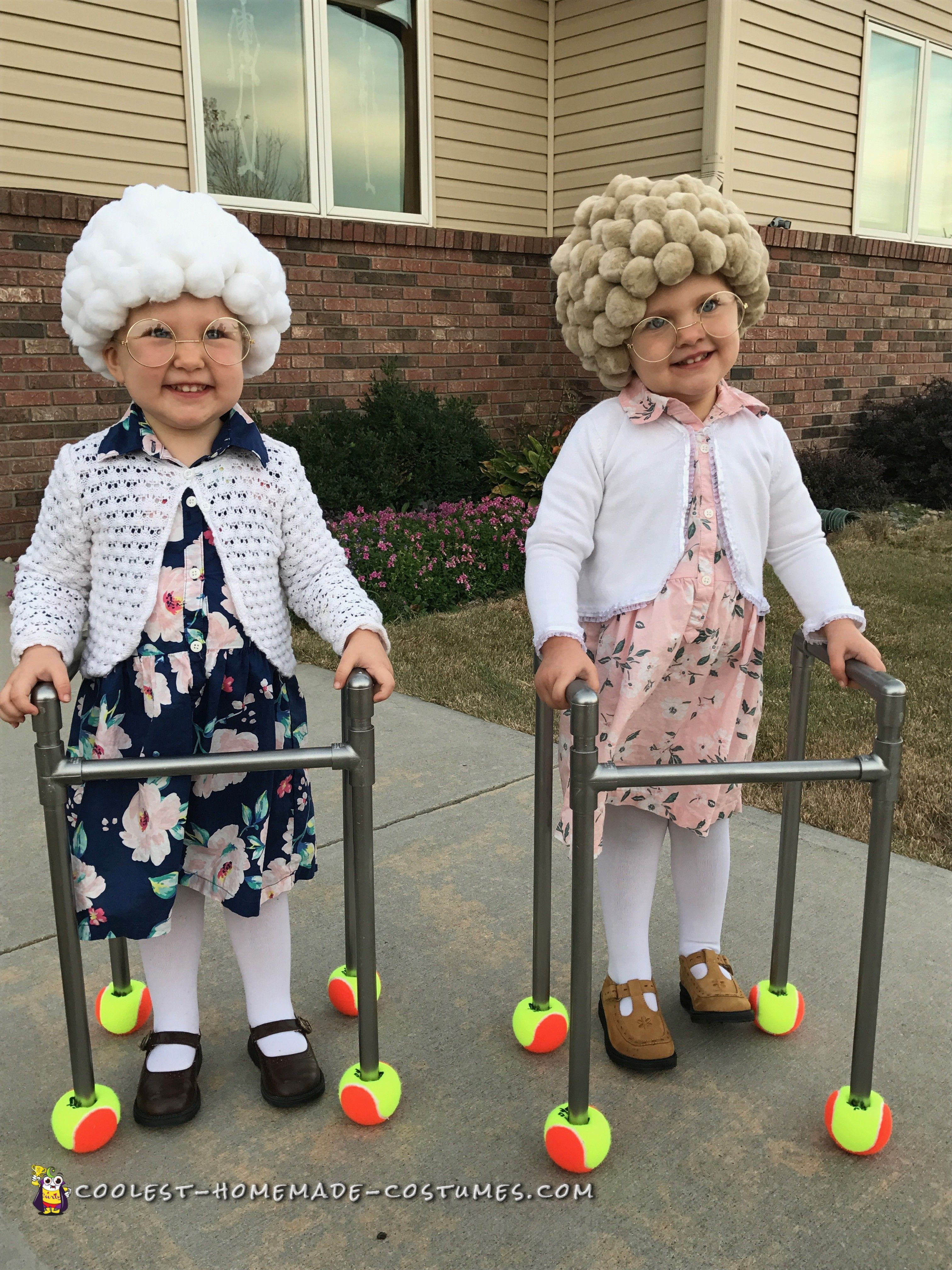 Easy DIY Costumes For Kids  Easy DIY Adorable Twin Old La s in 2019