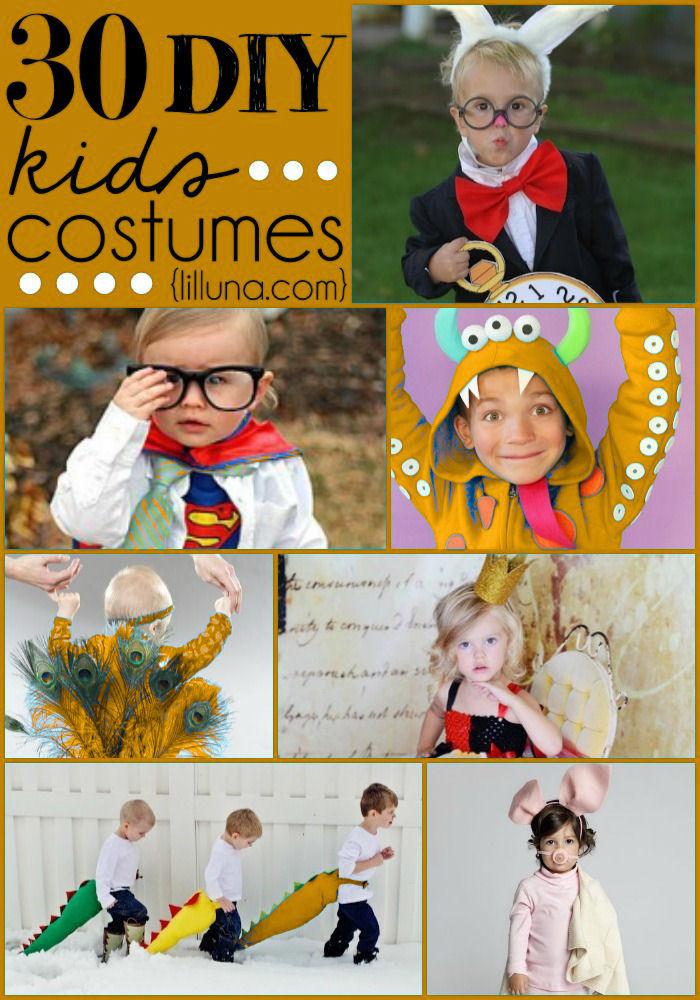 Easy DIY Costumes For Kids  DIY Halloween Costumes