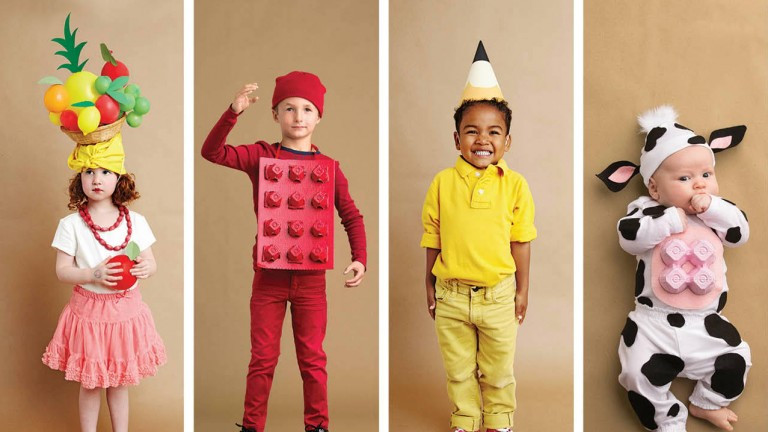 Easy DIY Costumes For Kids  Parents guide to Halloween Easy costume ideas recipes