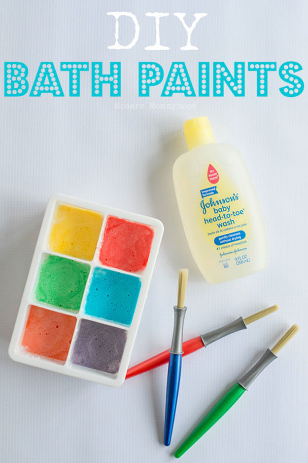 Easy DIYs For Kids  21 Easy DIY Paint Recipes Your Kids Will Go Crazy For