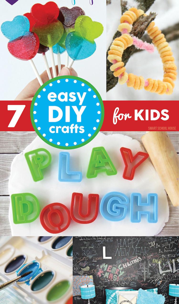 Easy DIYs For Kids  Winter Crafts for Kids