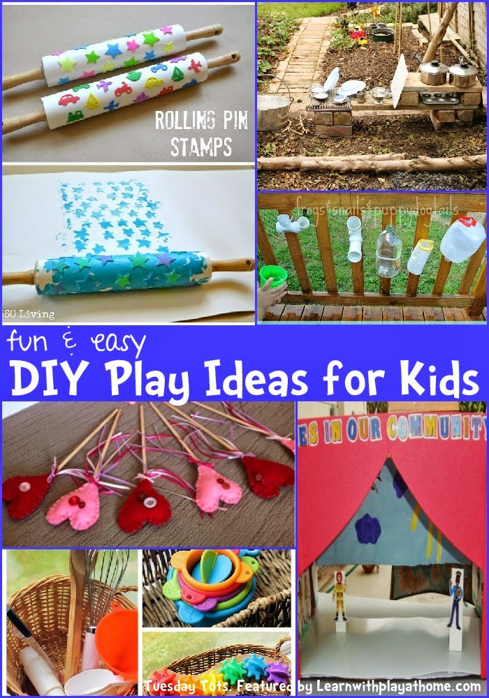 Easy DIYs For Kids  Learn with Play at Home Fun and Easy DIY Play Ideas for Kids
