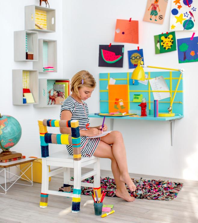 Easy DIYs For Kids  10 DIY Kids' Desks For Art Craft And Studying Shelterness