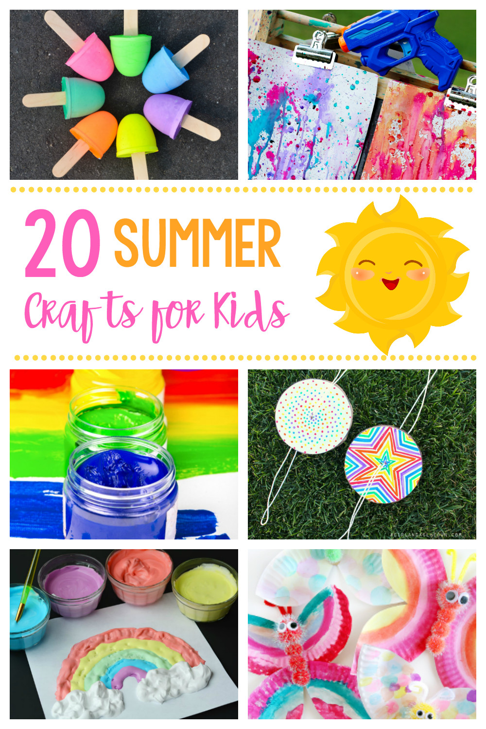 Easy Summer Crafts For Preschoolers  20 Simple & Fun Summer Crafts for Kids