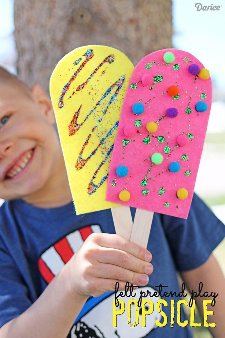 Easy Summer Crafts For Preschoolers  236 best images about Preschool Summer Crafts on Pinterest