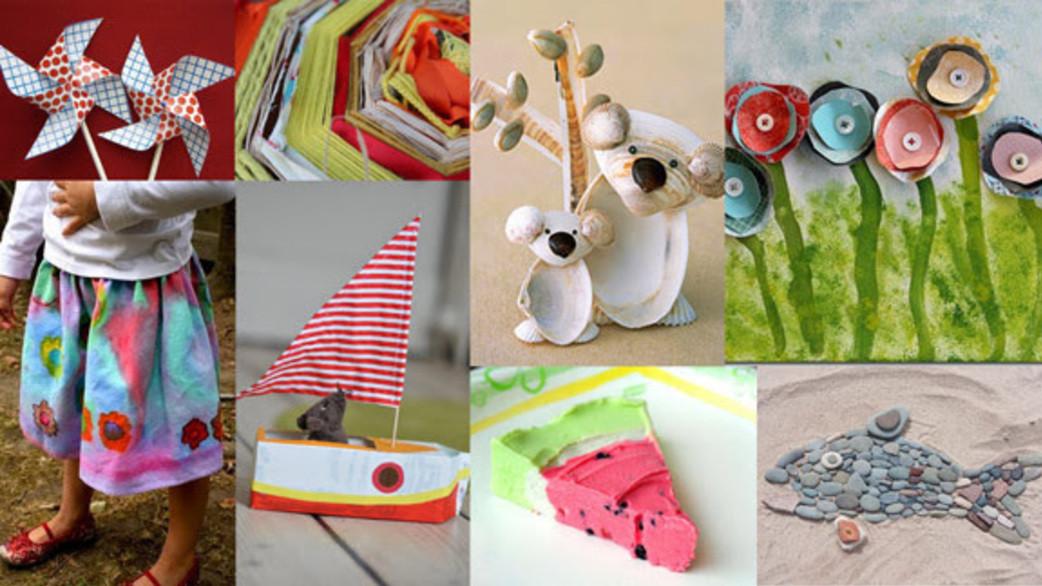 Easy Summer Crafts For Preschoolers  HiMama Simple Preschool Craft Ideas for Summer