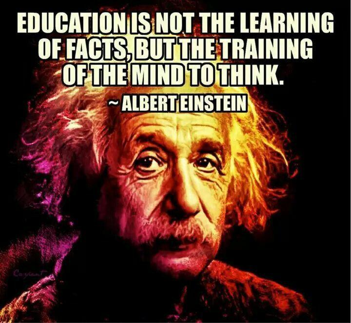 Einstein Education Quote  Albert Einstein Education Truth