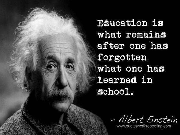 Einstein Education Quote  Maxwell Daniel Wel e