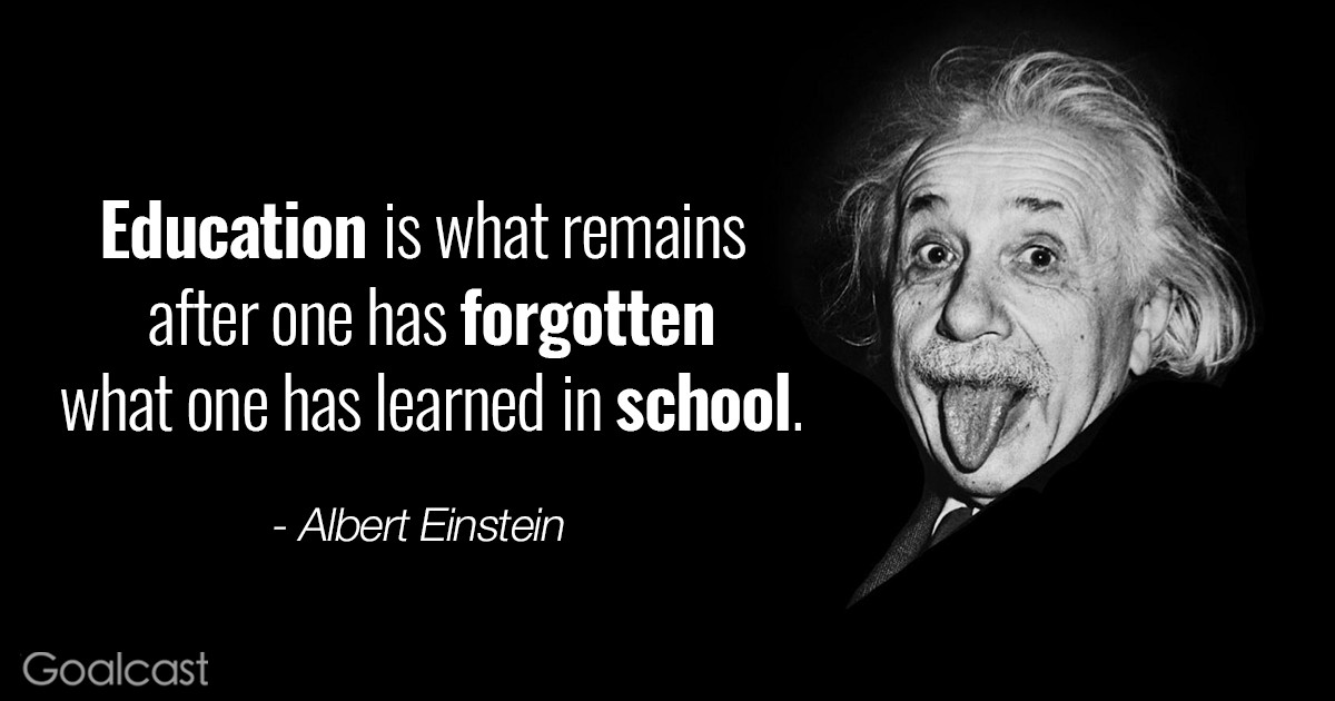 Einstein Education Quote  Top 30 Most Inspiring Albert Einstein Quotes of All Times