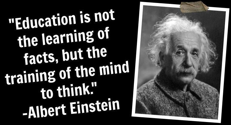 Einstein Education Quote  ALBERT EINSTEIN QUOTES ABOUT SCIENCE image quotes at
