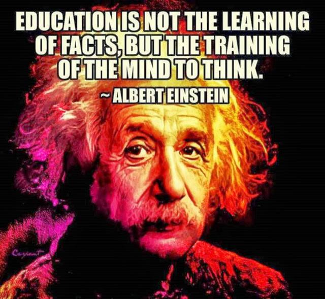 Einstein Education Quote  jokes and other stuff Albert Einstein quotes