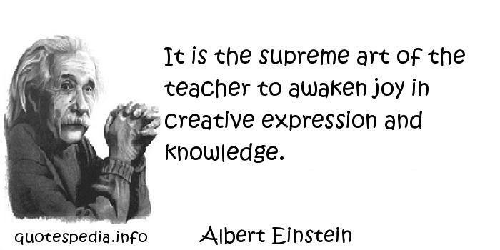 Einstein Quotes On Education  Famous quotes reflections aphorisms Quotes About Art