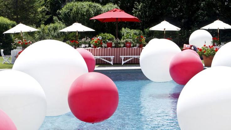 Elegant Pool Party Ideas  36 best Elegant Pool Party images on Pinterest