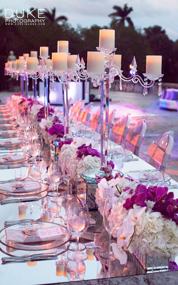 Elegant Pool Party Ideas  Fabulous Long Wedding Tables Belle The Magazine