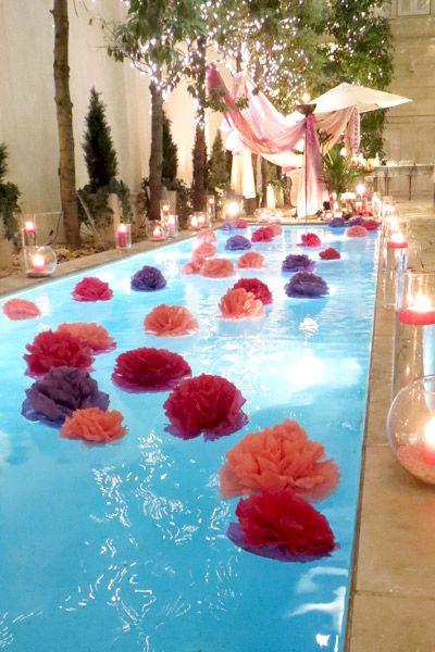 Elegant Pool Party Ideas  Pool Party Decorating Ideas Wedding & Event Ideas