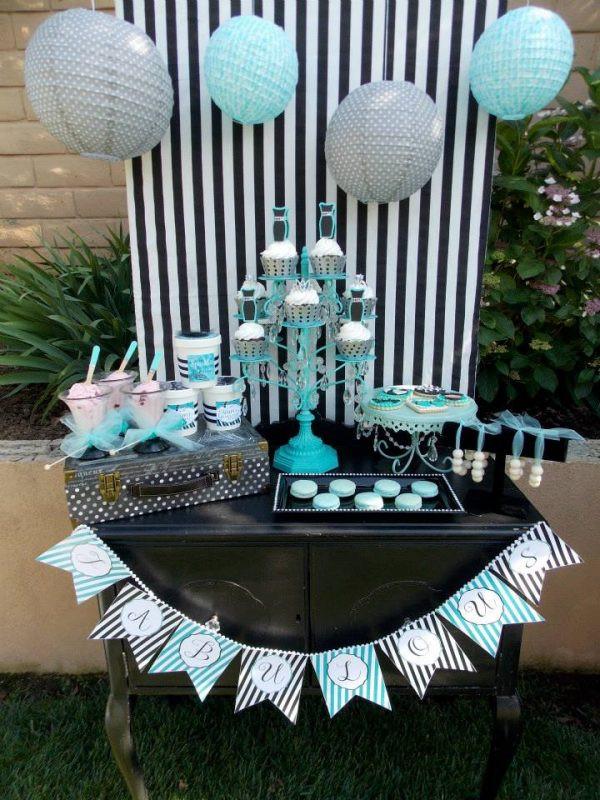 Elegant Pool Party Ideas  Tiffany Summer Splash Bash Design Dazzle