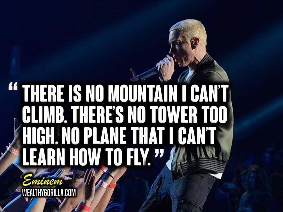 Eminem Motivational Quotes  83 Greatest Eminem Quotes & Lyrics of All Time 2019