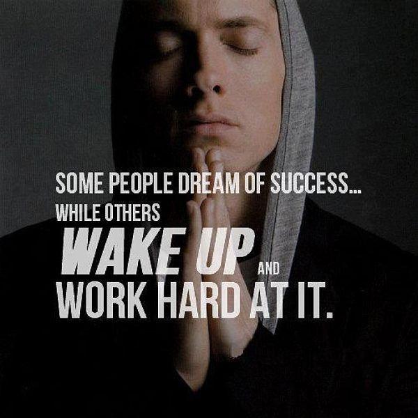 Eminem Motivational Quotes  25 best Eminem quotes on Pinterest