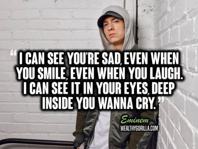 Eminem Motivational Quotes  66 Greatest Eminem Quotes & Lyrics of All Time