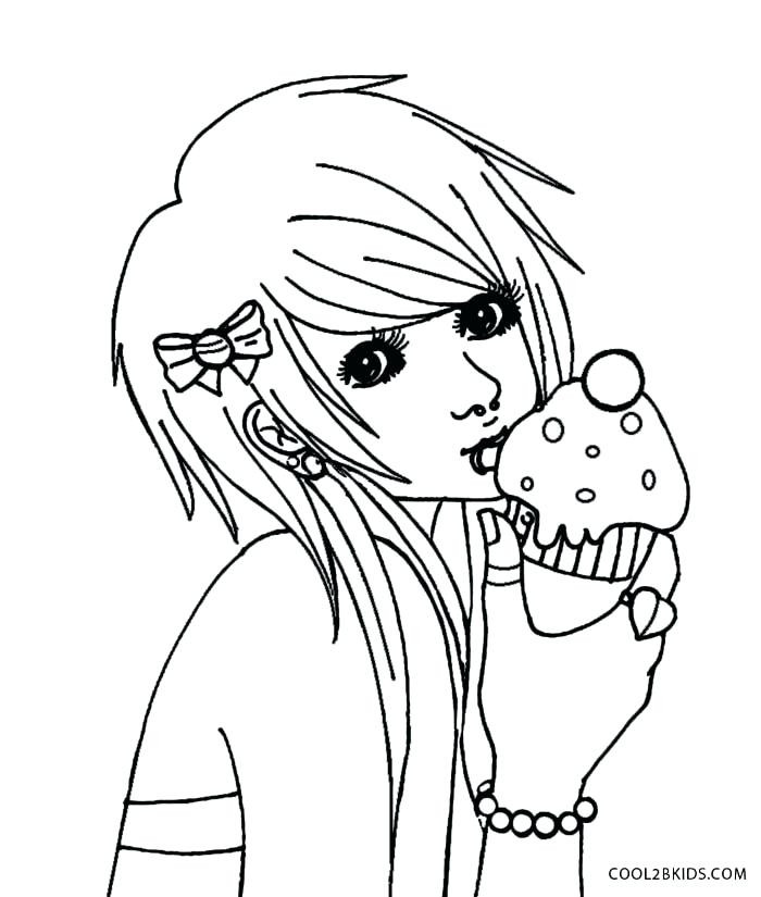 Emo Boys Coloring Pages  Anime Emo Boy Drawing at GetDrawings