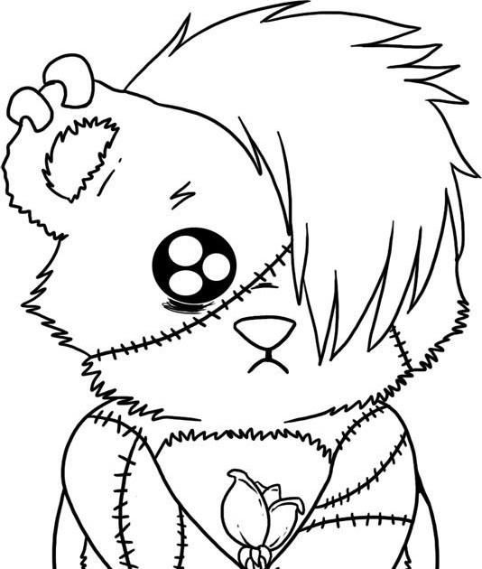 Emo Boys Coloring Pages  paolomacca Emo Love Coloring Pages